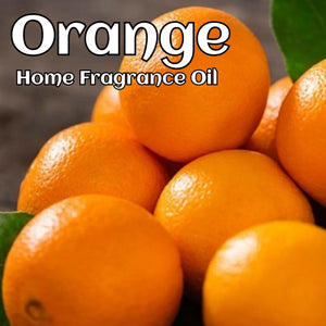 Orange Home Fragrance Diffuser Warmer Aromatherapy Burning Oil