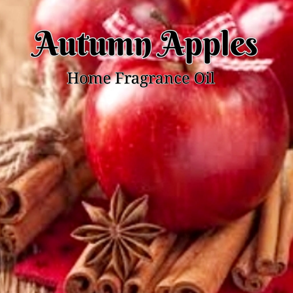 Autumn Apples Home Fragrance Diffuser Warmer Aromatherapy Burning Oil