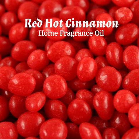 Red Hot Cinnamon Home Fragrance Diffuser Warmer Aromatherapy Burning Oil