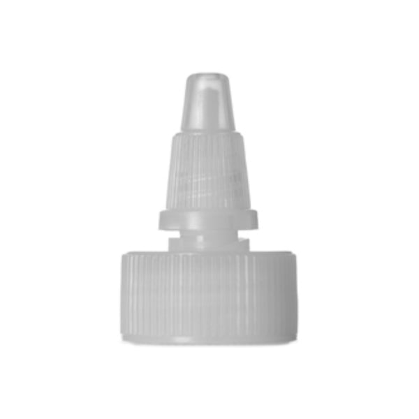 Natural Twist Top Dispensing Caps - Bottle Cap Size: 24-410 - Set of 25