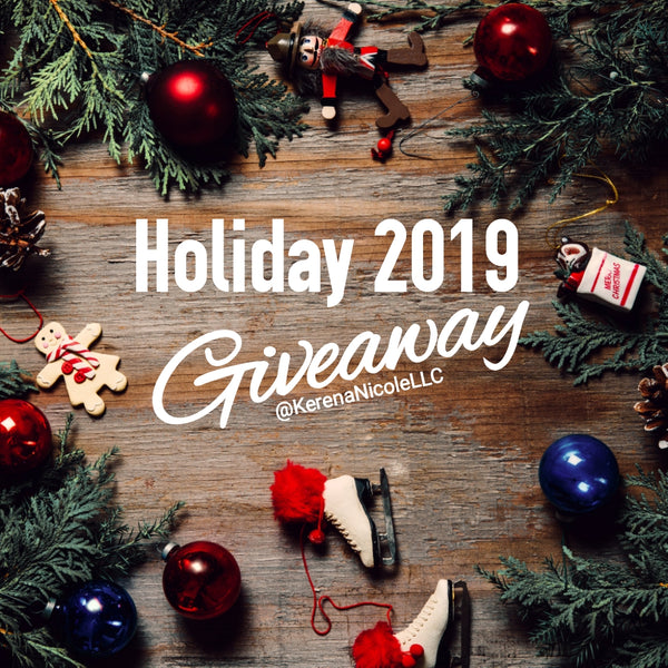 Holiday 2019 Giveaway - I AM WOMAN EARRINGS