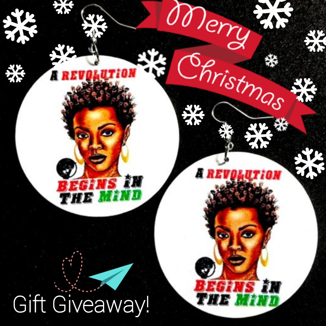 Holiday 2019 Giveaway - REVOLUTION MIND EARRINGS