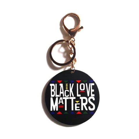 Black Love Matters Keychain
