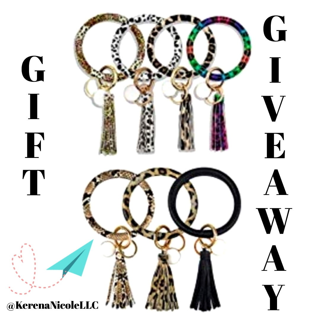 New Year 2020 March Giveaway ~ Wristlet Keychain