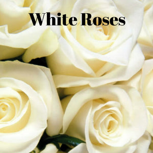 White Roses Candle/Bath/Body Fragrance Oil