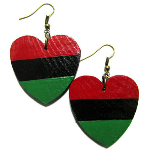 LIBERATION LOVE Multi-Color Fashion Jewelry Dangle Handmade Earrings