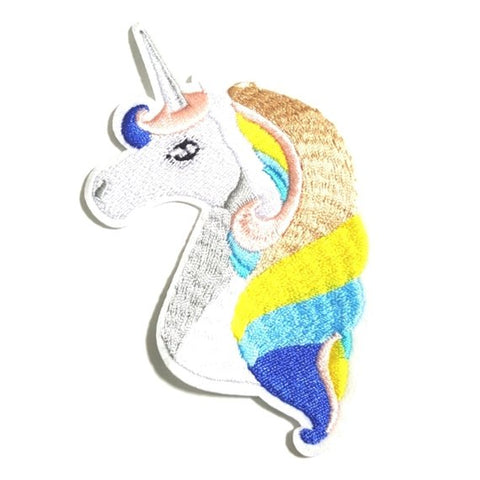 Unicorn Pastel Iron-On Patch