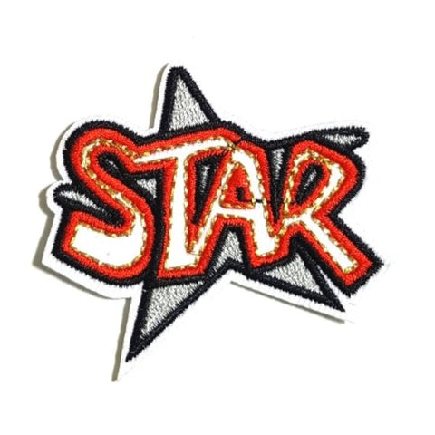 STAR Expression Iron-On Patches