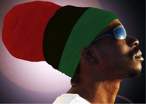 Unisex RBG Liberation (Red Top) Rasta Headwrap Turban