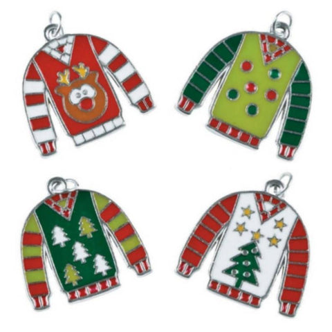 Christmas Ugly Sweaters Charms