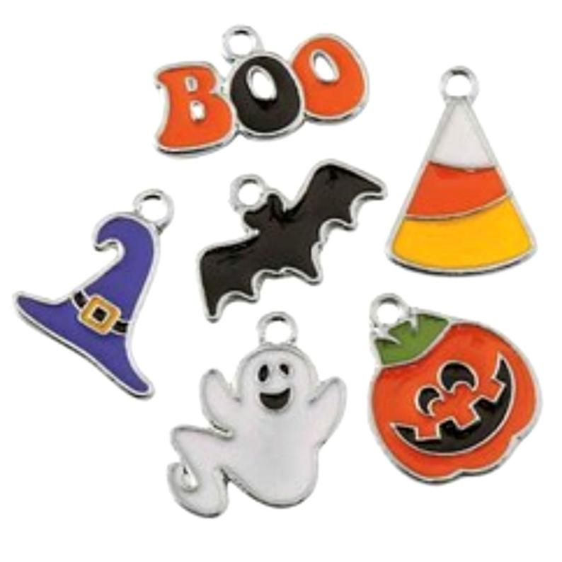 Halloween Assorted Charms