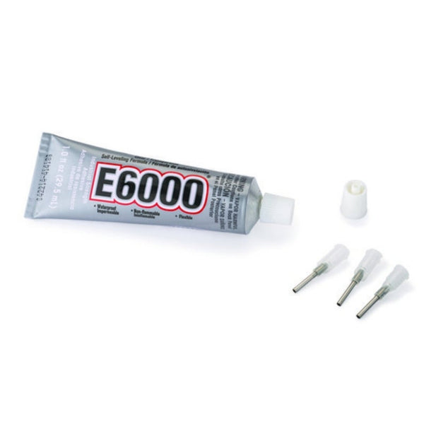 E6000 Industrial Strength Adhesive with Precision Tips Craft Glue 1.0 fl oz
