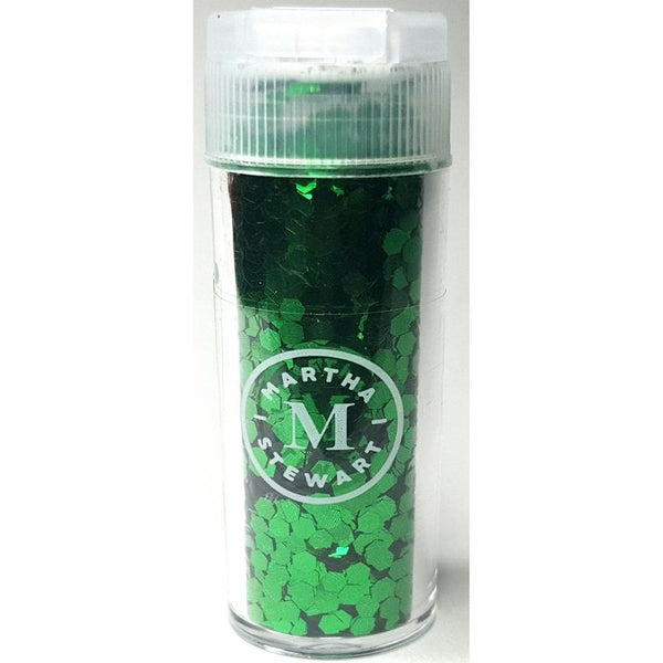 Martha Stewart Crafts™ MALACHITE Hexagon Shape Glitter