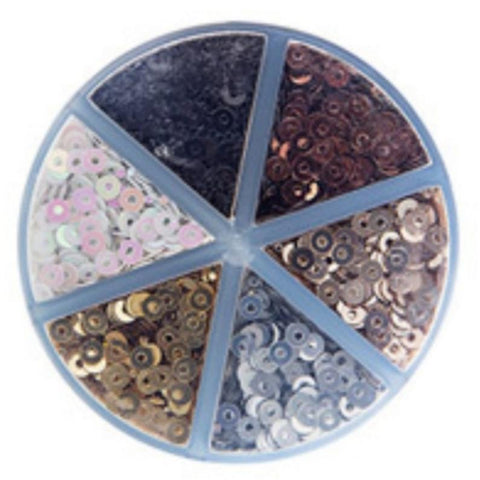 Darice™ SEQUIN Metallic Color Caddy Glitter