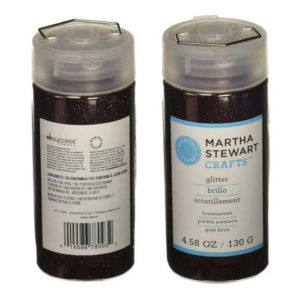 Martha Stewart Crafts™ BROWNSTONE Fine Glitter