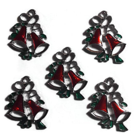 Christmas Sleigh Bells Jewelry Bracelet Necklace Charms