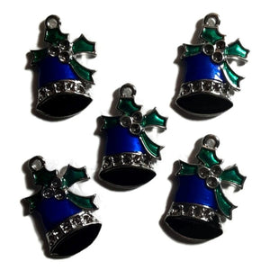 Christmas Bells Jewelry Bracelet Necklace Charms
