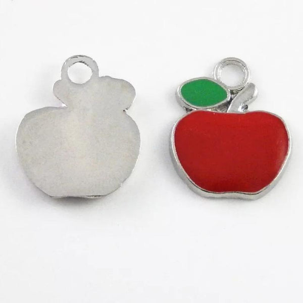 Apple Jewelry Bracelet Necklace Charms