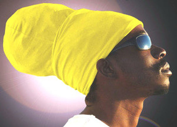 Unisex Yellow Rasta Headwrap Turban