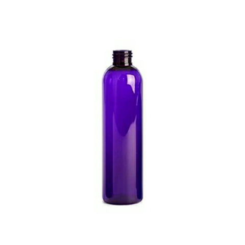 8oz Purple Cosmo PET Plastic Bottles - Set of 25