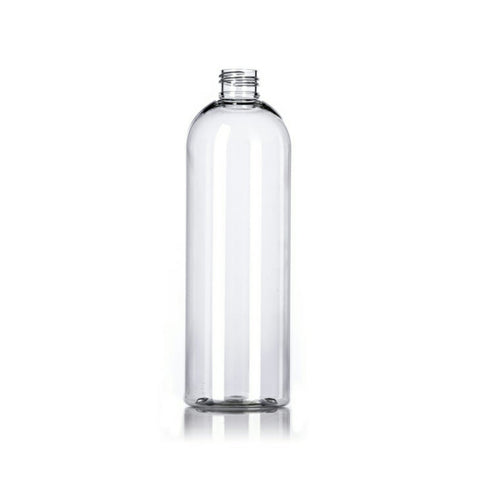 16oz Clear Cosmo PET Plastic Bottles - Set of 25