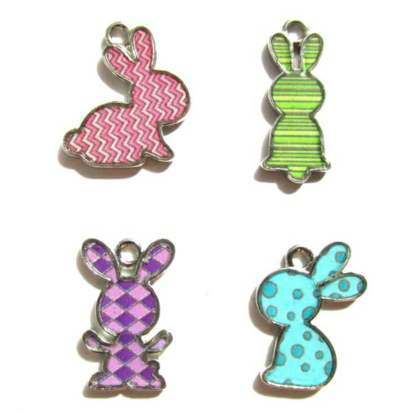 Bunny Rabbit Charms