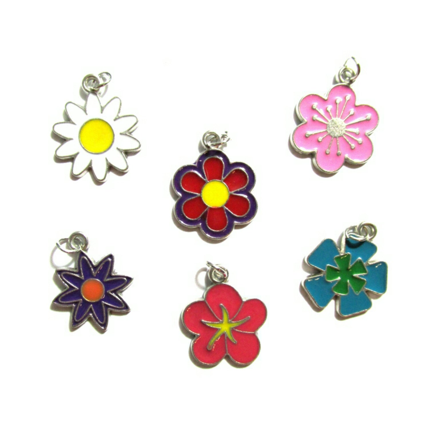Flower Bloom Charms