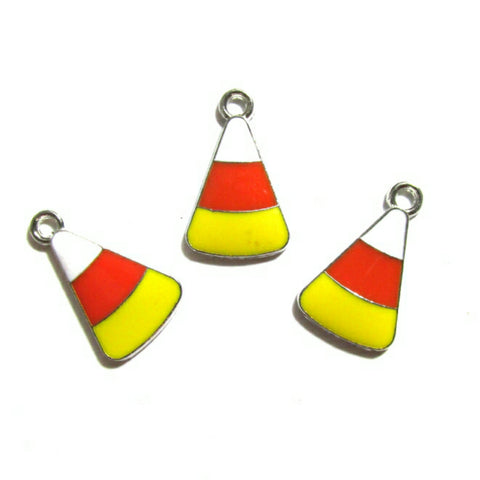 Candy Corn Halloween Charms