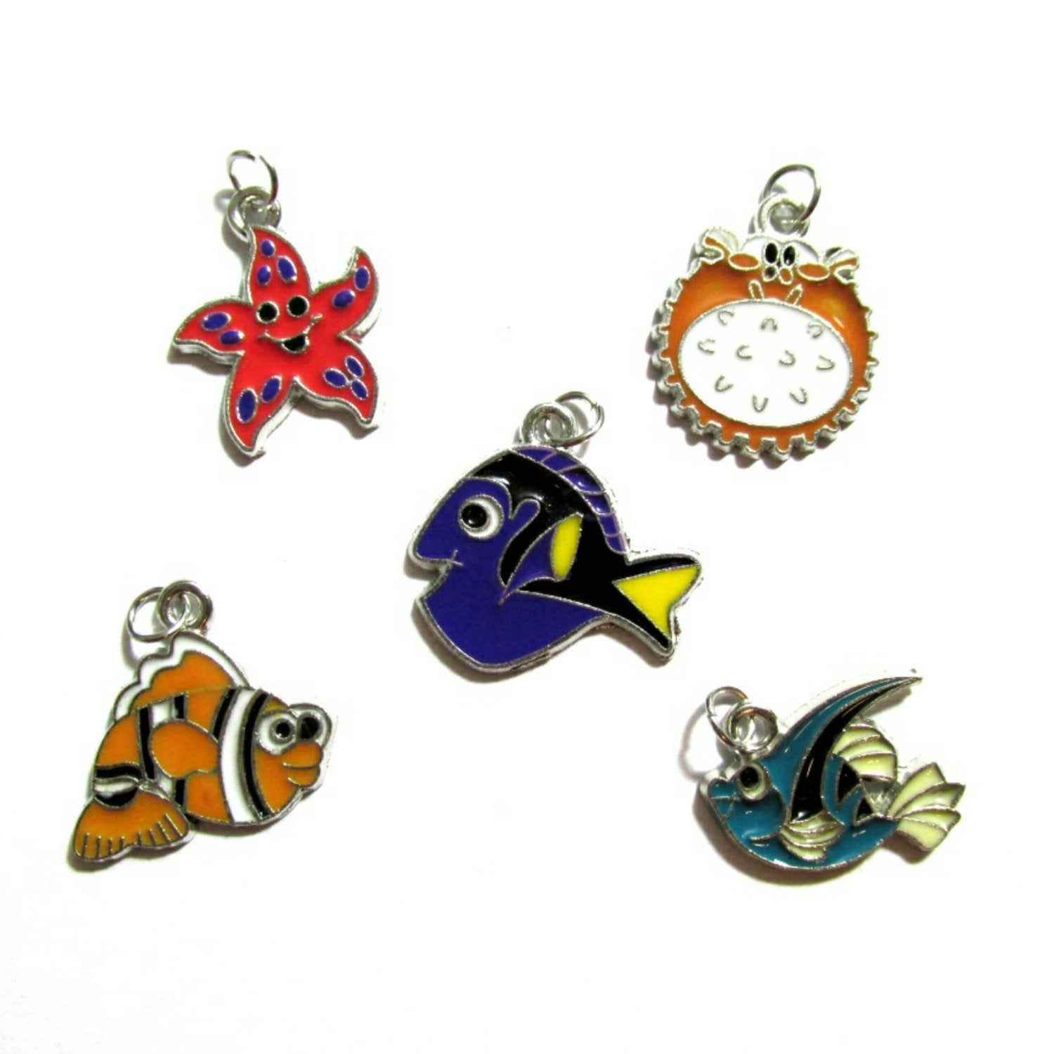 Sea Life Under the Sea Charms