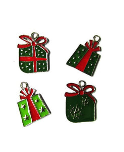 Christmas Gift Box Assortment Charms