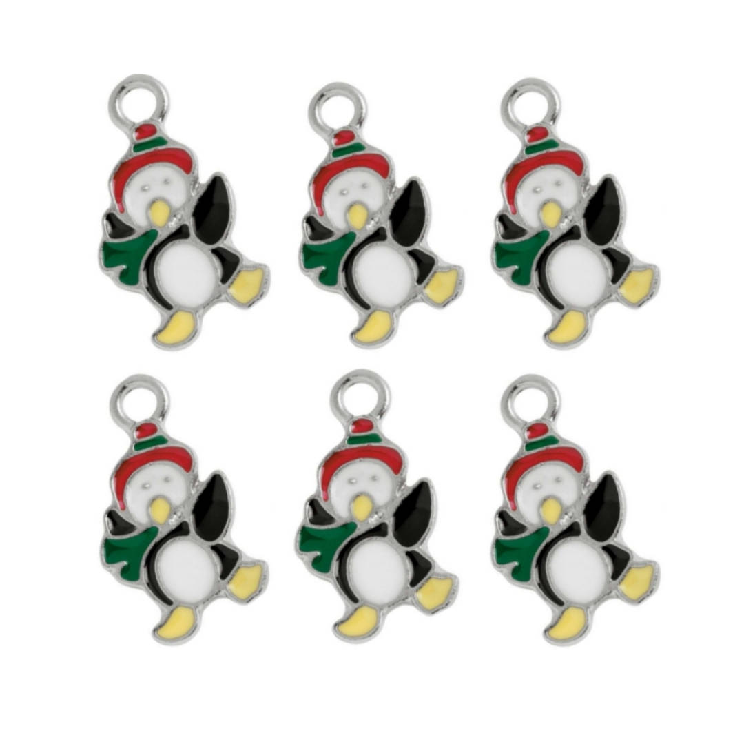 Dancing Miniature Penguin Charms
