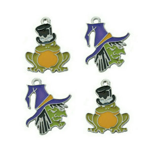 Halloween Witch Toad Charms