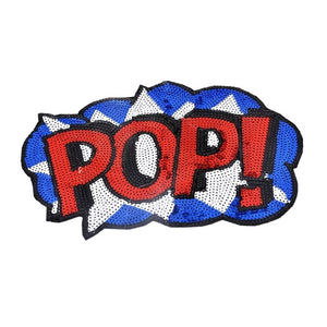 POP Expression Iron-On Sequins Patch