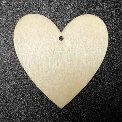 Unfinished Ready to Decorate Natural Wood HEART Cutout DIY Wood Craft Supplies Wedding Favors Party Favors Wood Earrings