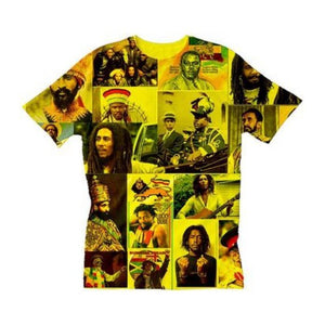 Rasta Revolutionary Legends Crew Neck Unisex Tshirt