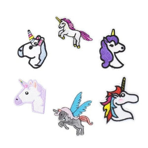 Unicorn Mixed Lot Iron-On Patches