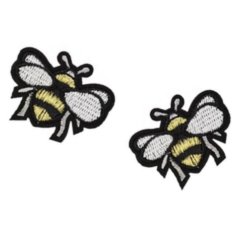 Bumble Bees Iron-On Patches