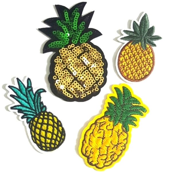 Everything Pineapple Iron-On Patches