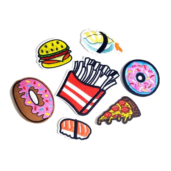 Everything Snacks Iron-On Patches