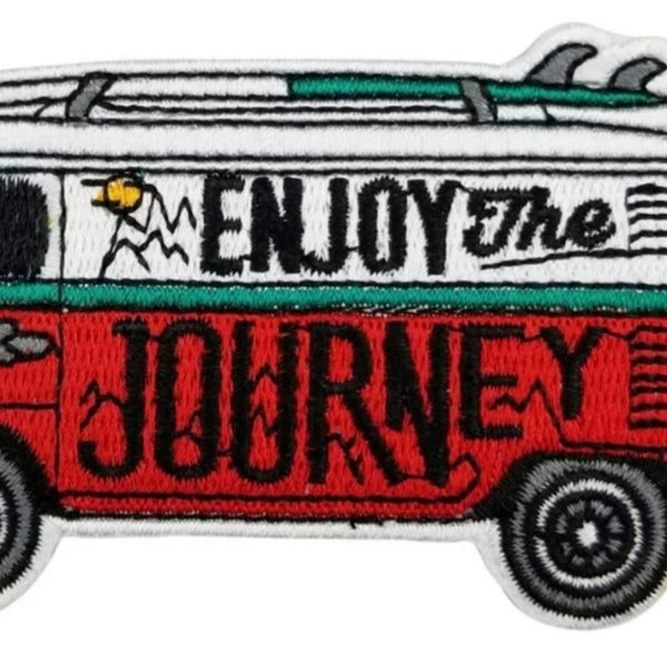 Enjoy The Journey Iron-On Patch