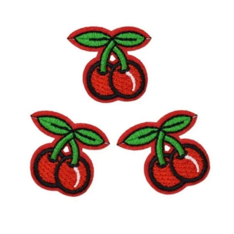 Cherries Iron-On Patches