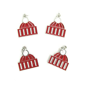 Winter Red Hat Charms