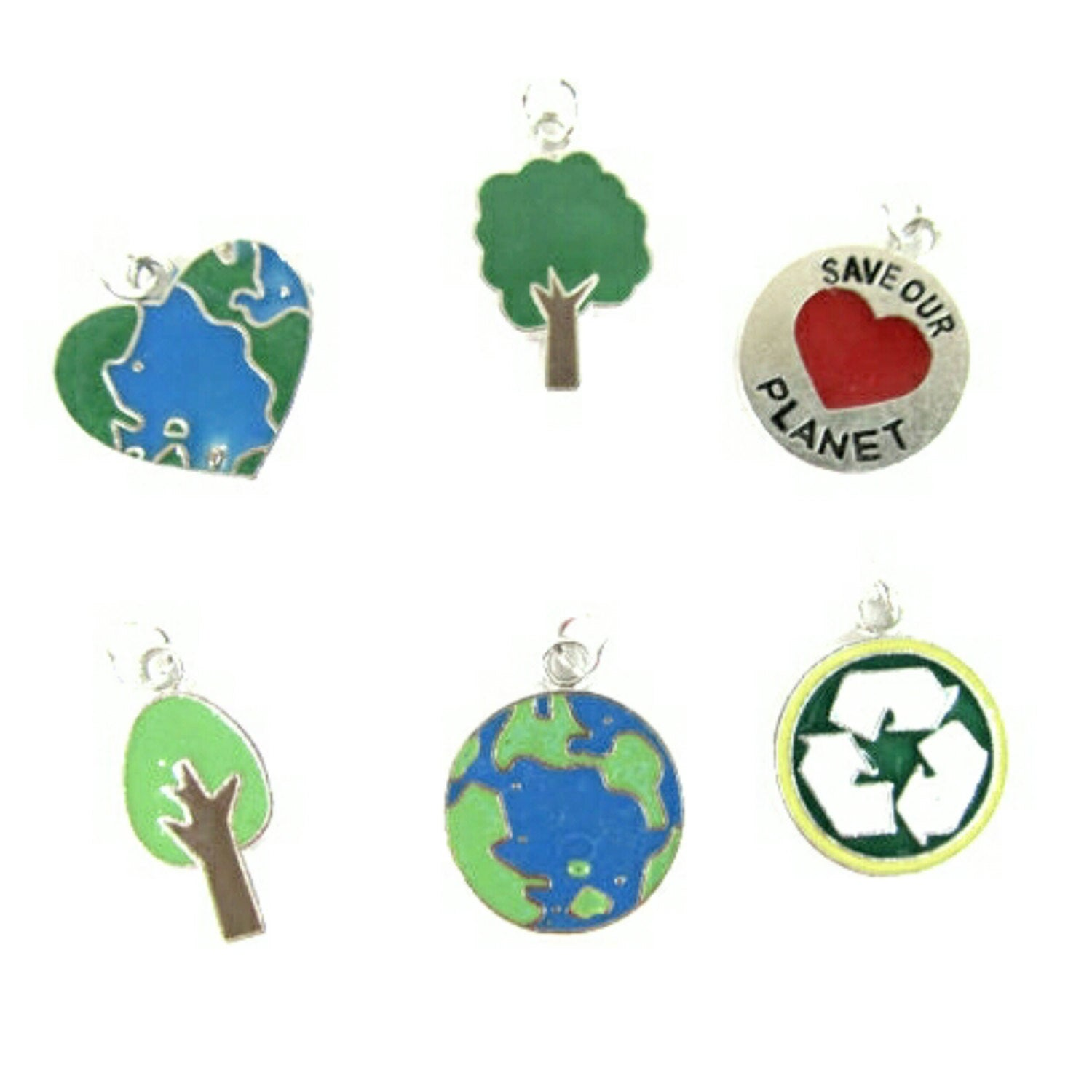 Save Our Planet Charms