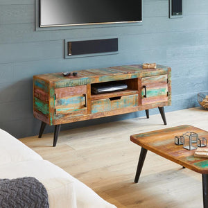 Coastal Chic Widescreen TV Cabinet, Tv media Unit / Stand - Hickory Furniture