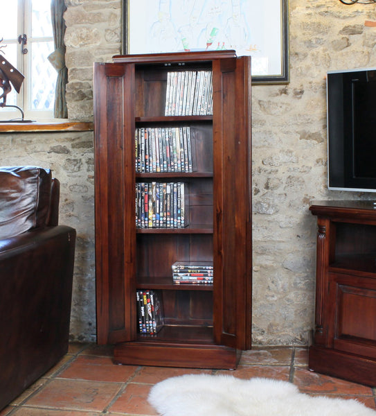 La Roque Cd/dvd Cupboard - Dvd Cabinet Free Shipping Baumhaus Hickory Furniture Co.