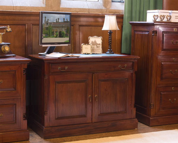 La Roque Hidden Home Office - Writing Desk Free Shipping Baumhaus Hickory Furniture Co.