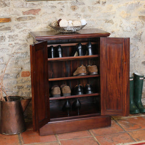 La Roque Shoe Cupboard - Shoe Cupboard Free Shipping Baumhaus Hickory Furniture Co.