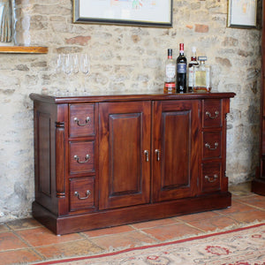 La Roque Sideboard - Sideboard Free Shipping Baumhaus Hickory Furniture Co.