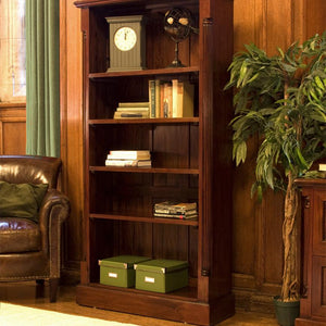 La Roque Tall Open Bookcase - Bookcase Free Shipping Baumhaus Hickory Furniture Co.