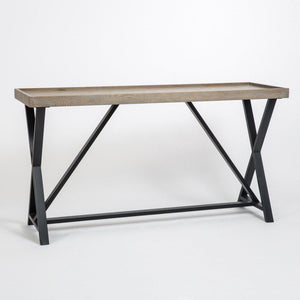 Pacific | Console Table | Aged Oak-Console Table-Hickory Furniture Co.-Hickory Furniture Co.